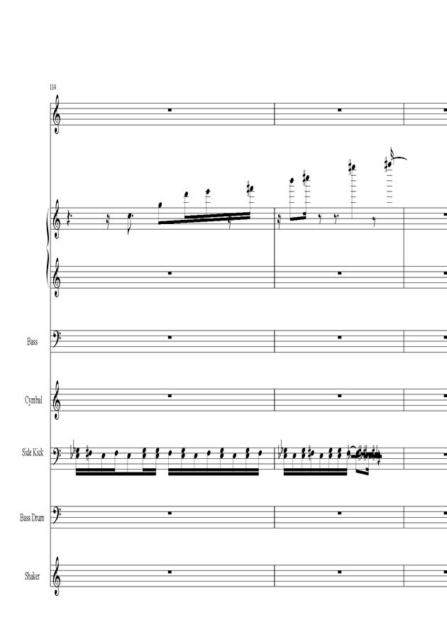 Acai na tigela钢琴谱 第24页