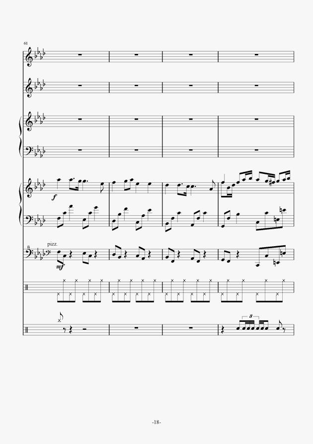 Quo Vadis钢琴谱 第18页