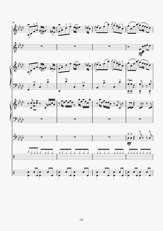 Quo Vadis钢琴谱 第24页