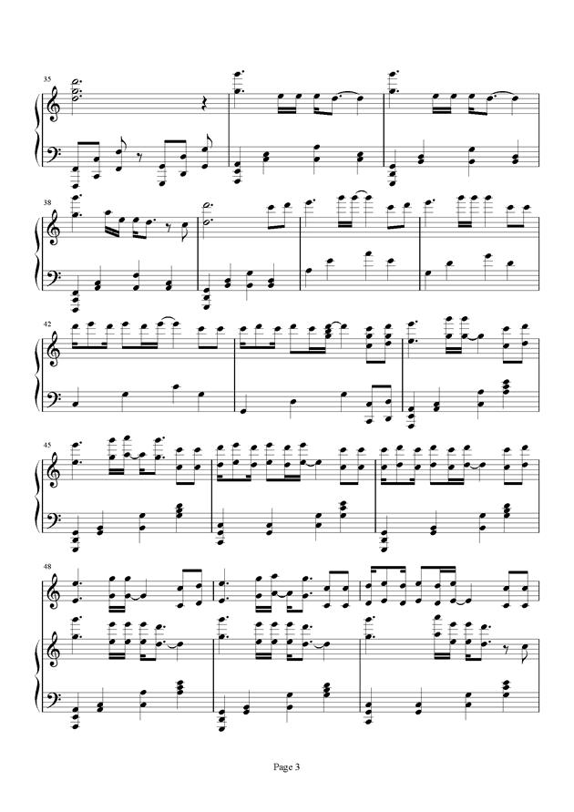 心之火 花千骨 主题曲,心之火 花千骨 主题曲钢琴谱,心之火 花千骨