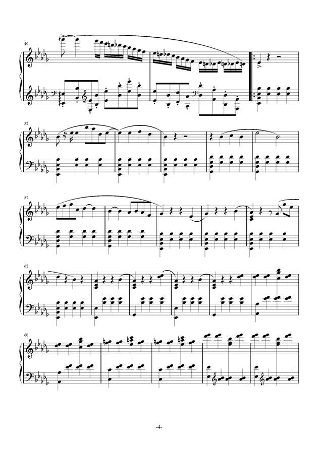 summer holiday 9钢琴谱 第4页