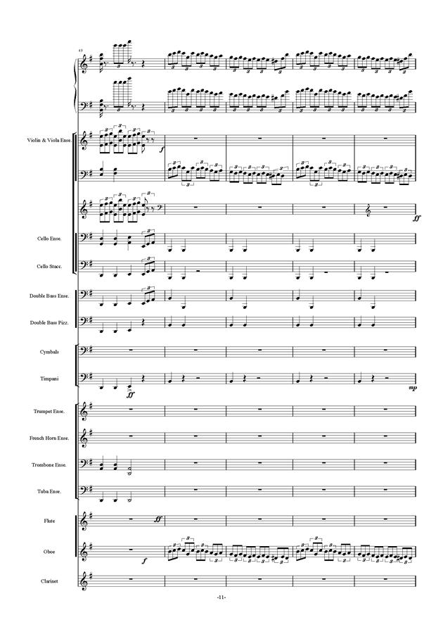 新世界协奏曲ag88环亚娱乐谱 第11页