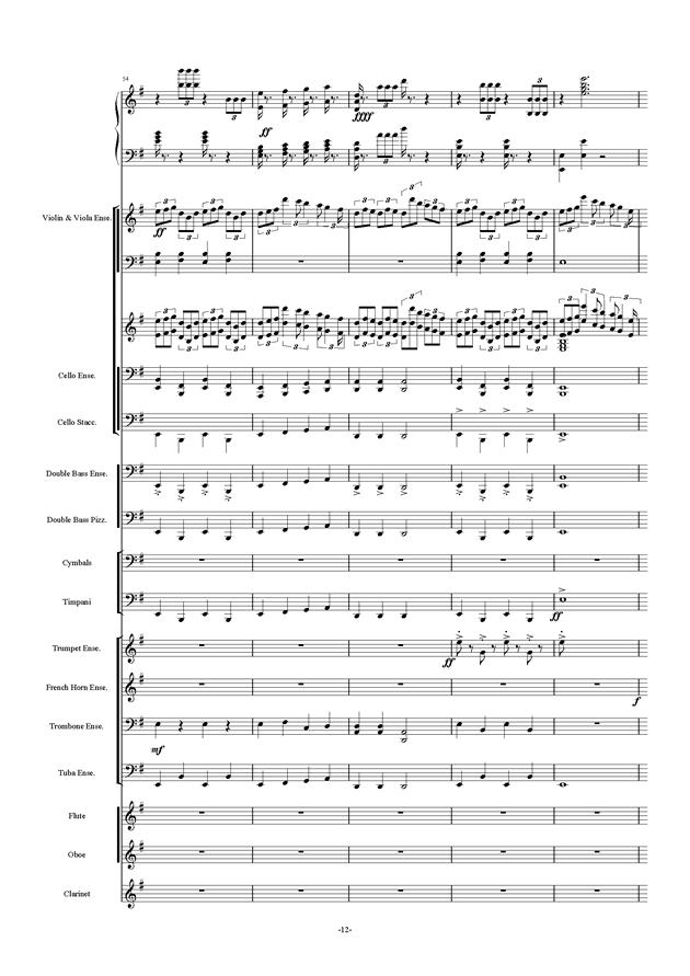新世界协奏曲ag88环亚娱乐谱 第12页