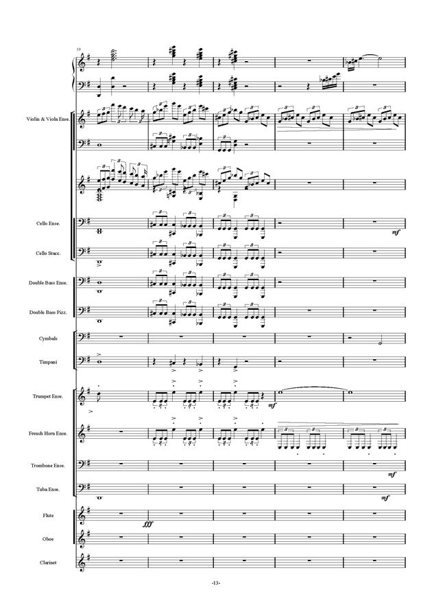 新世界协奏曲ag88环亚娱乐谱 第13页
