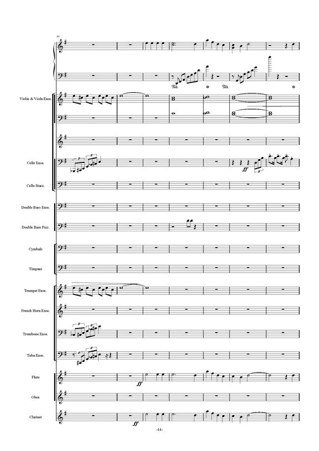新世界协奏曲ag88环亚娱乐谱 第14页
