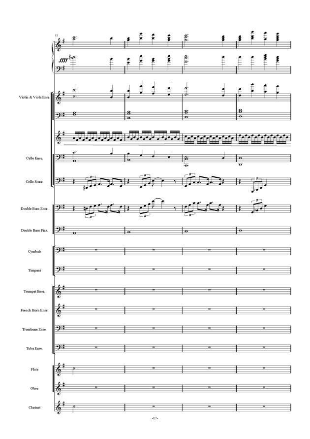 新世界协奏曲ag88环亚娱乐谱 第17页
