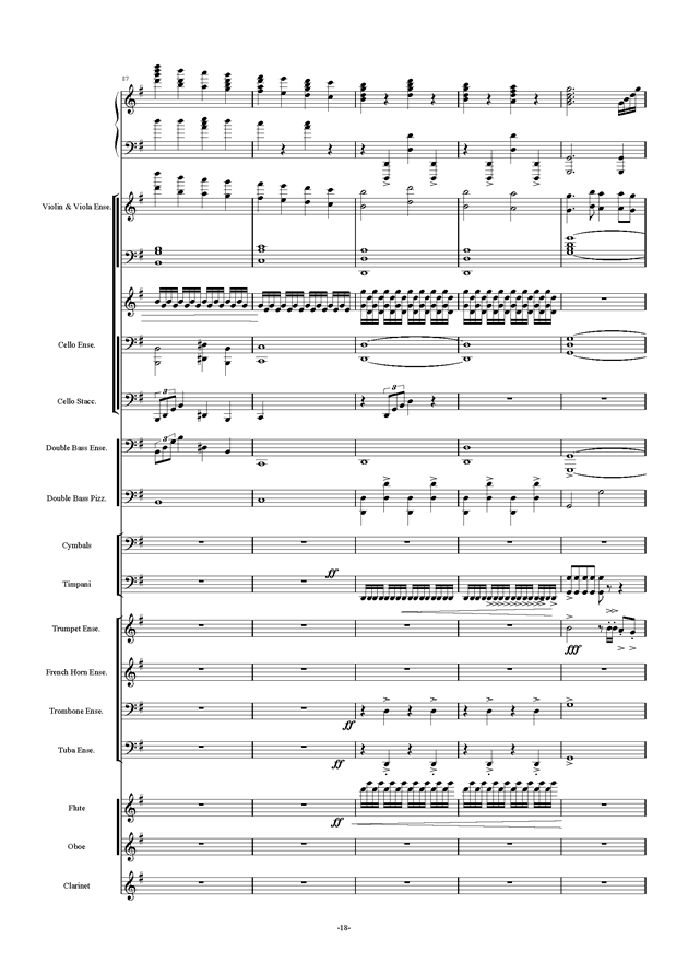 新世界协奏曲ag88环亚娱乐谱 第18页