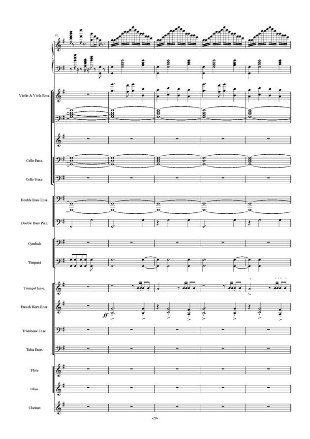 新世界协奏曲ag88环亚娱乐谱 第20页