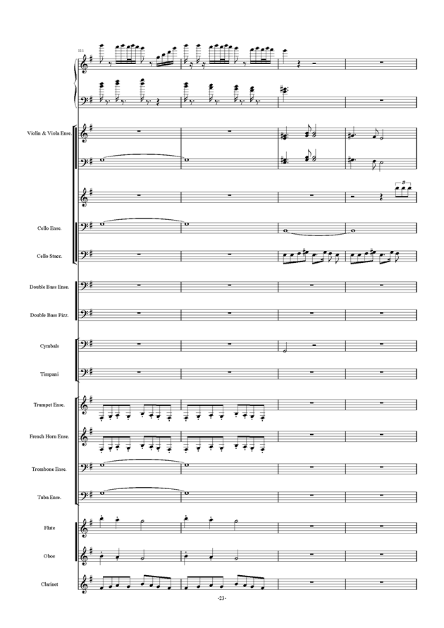新世界协奏曲ag88环亚娱乐谱 第23页