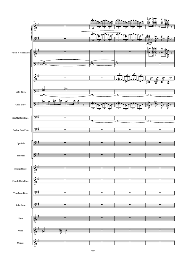新世界协奏曲ag88环亚娱乐谱 第26页