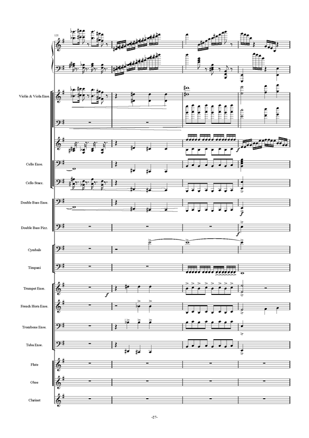 新世界协奏曲ag88环亚娱乐谱 第27页