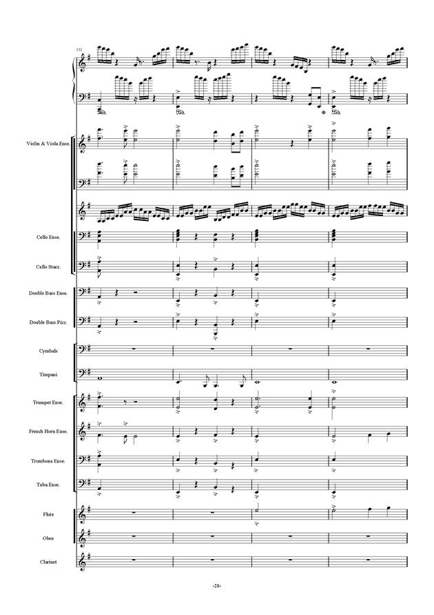 新世界协奏曲ag88环亚娱乐谱 第28页