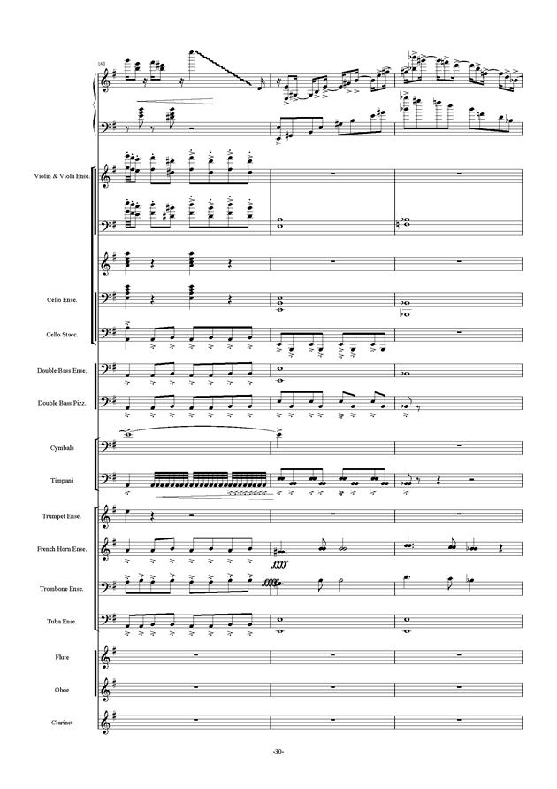 新世界协奏曲ag88环亚娱乐谱 第30页