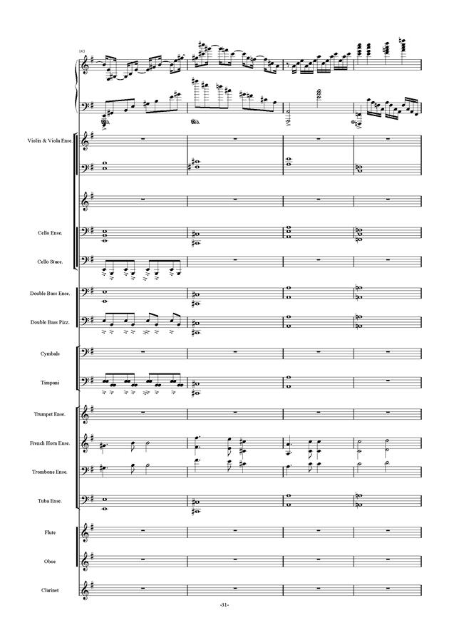 新世界协奏曲ag88环亚娱乐谱 第31页