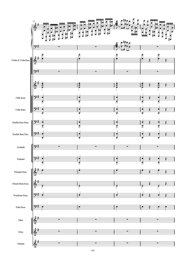 新世界协奏曲ag88环亚娱乐谱 第33页