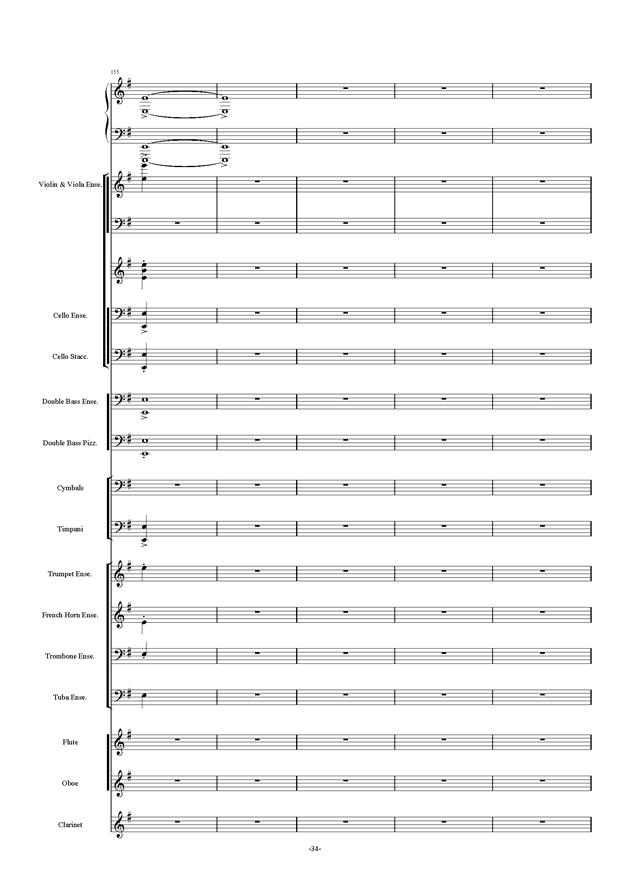 新世界协奏曲ag88环亚娱乐谱 第34页