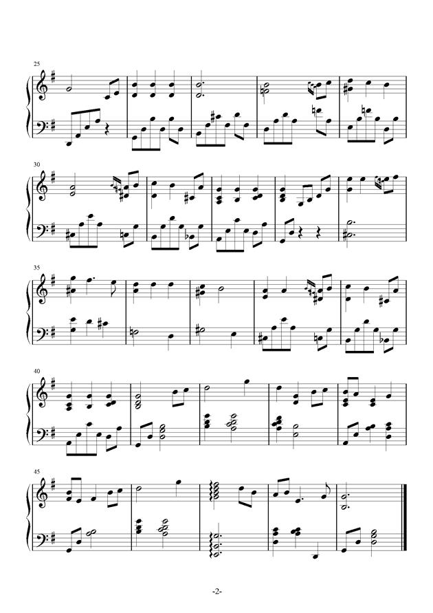 Conversation Heart钢琴谱 第2页