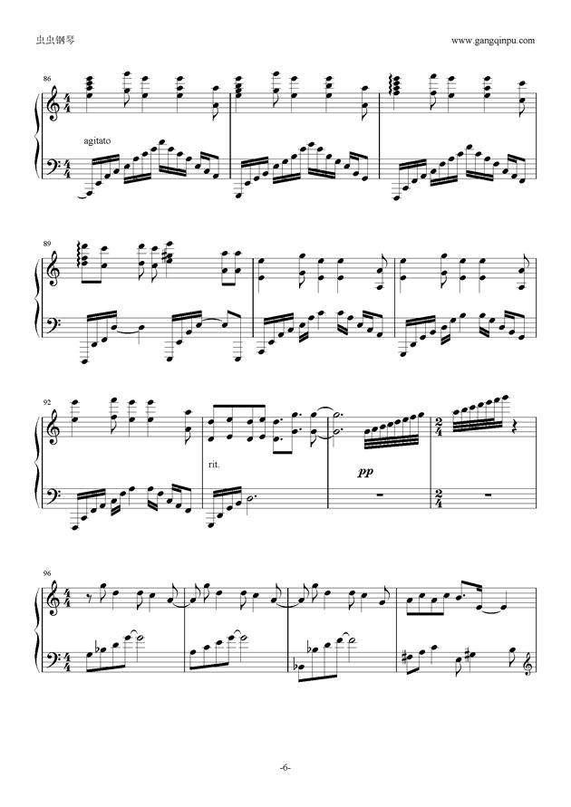 alIEz钢琴谱 第6页