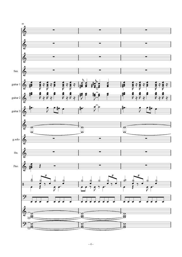 数码宝贝主题曲总谱