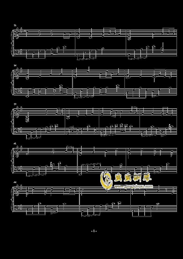 童话镇,童话镇钢琴谱,童话镇钢琴谱网,童话镇钢琴谱大全,虫虫钢