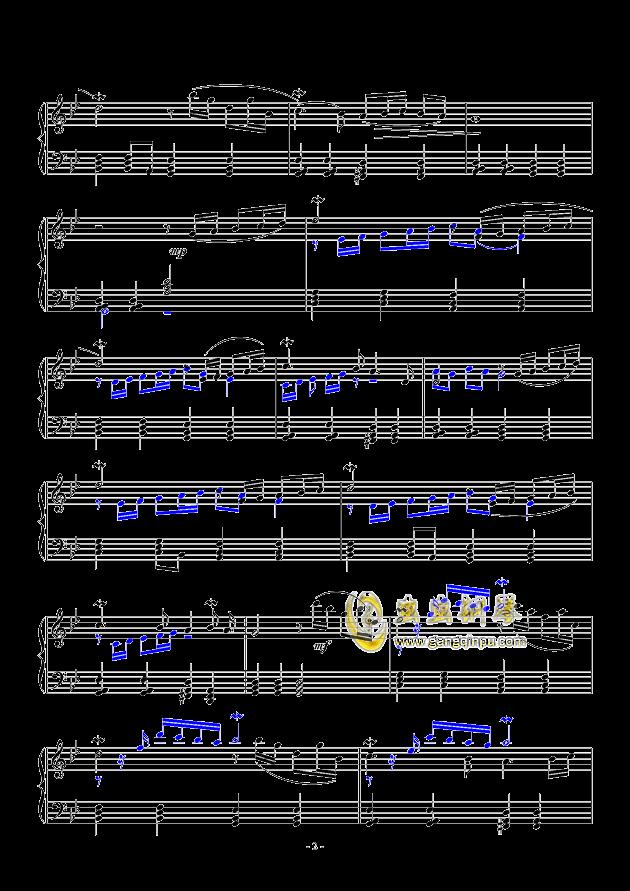 Adagio钢琴谱 第2页