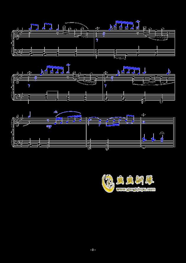 Adagio钢琴谱 第3页