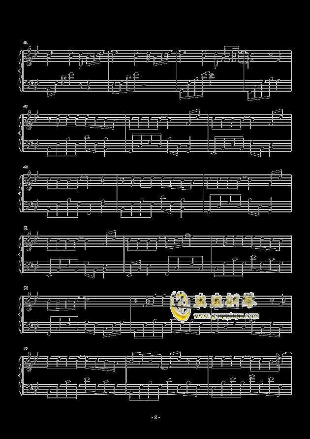 周杰伦 安静 简易版 ,周杰伦 安静 简易版 钢琴谱,周杰伦 安静 简易版 图片