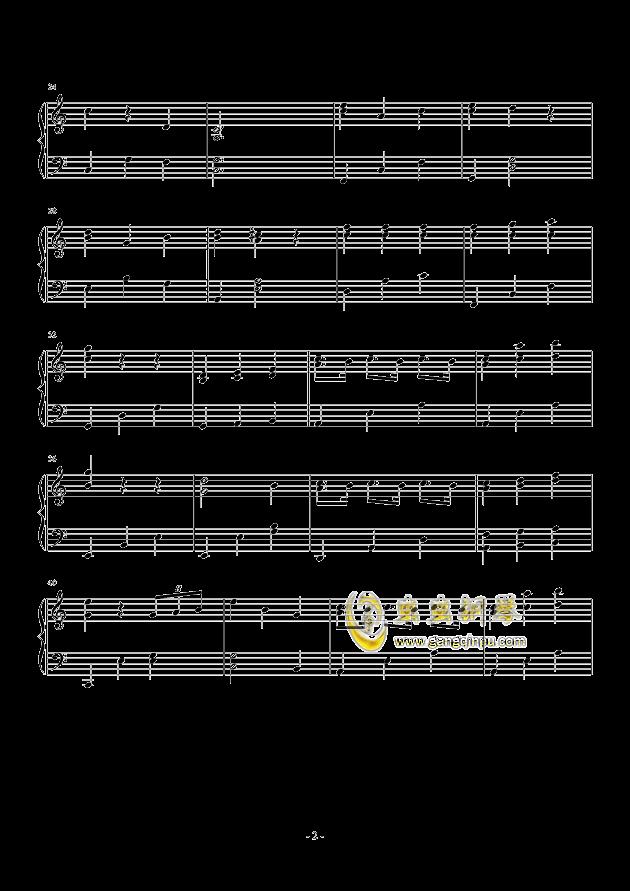 下一秒钢琴谱 第2页