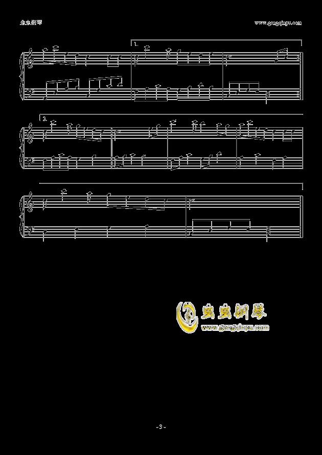 形的翅膀C大调钢琴谱,隐形的翅膀C大调钢琴谱网,隐形的翅膀C大