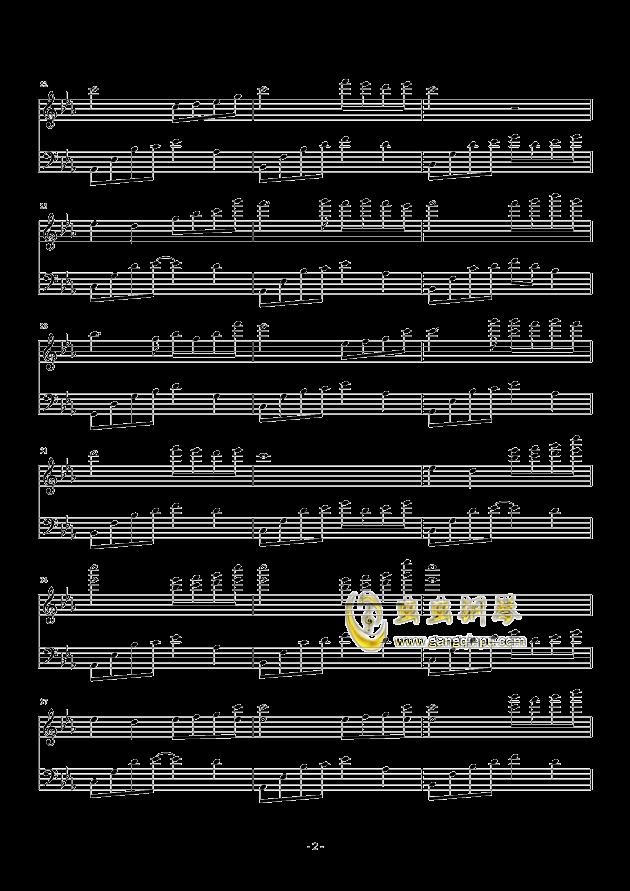 夜的钢琴曲五钢琴谱 第2页