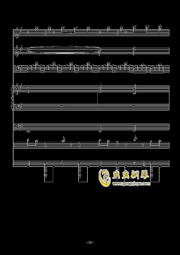 White Canvas钢琴谱 第13页