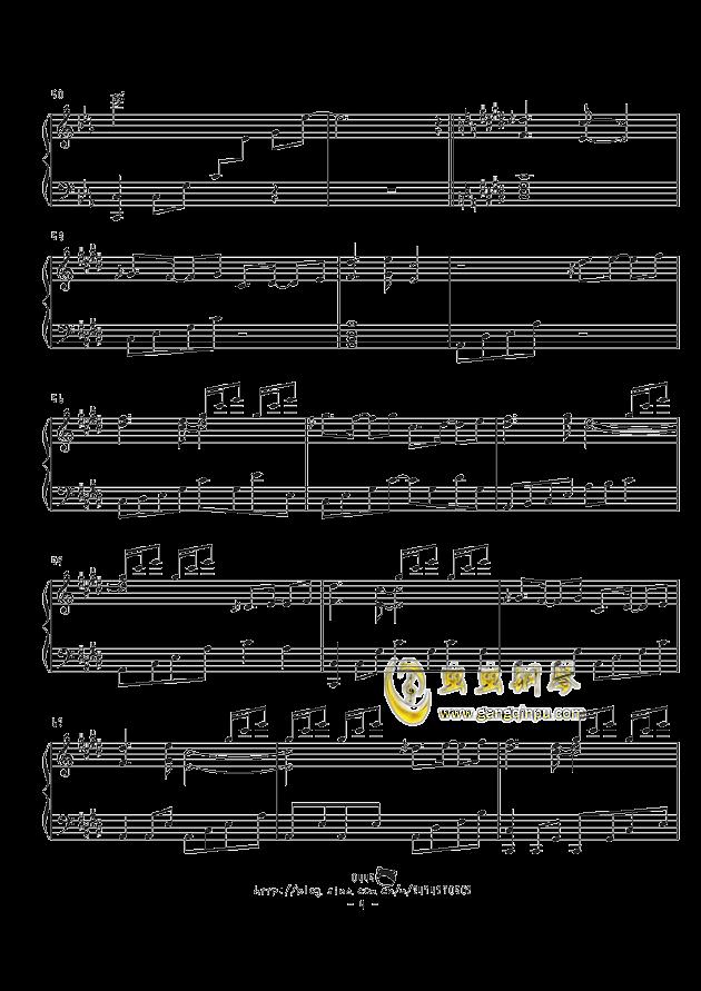 不思�hの国のアリス钢琴谱 第4页