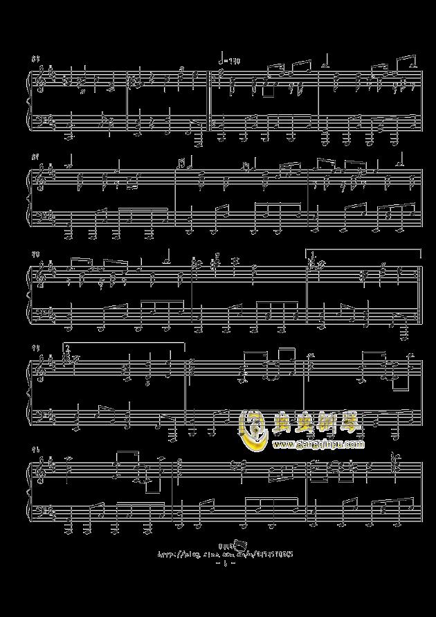 不思�hの国のアリス钢琴谱 第6页