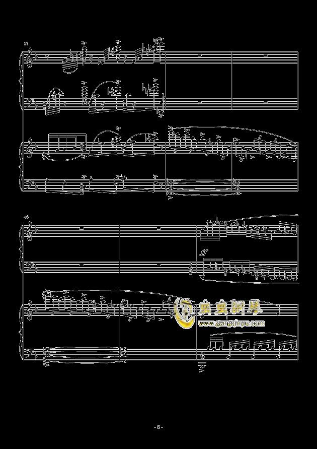 小温狂想曲 2.3钢琴谱 第6页