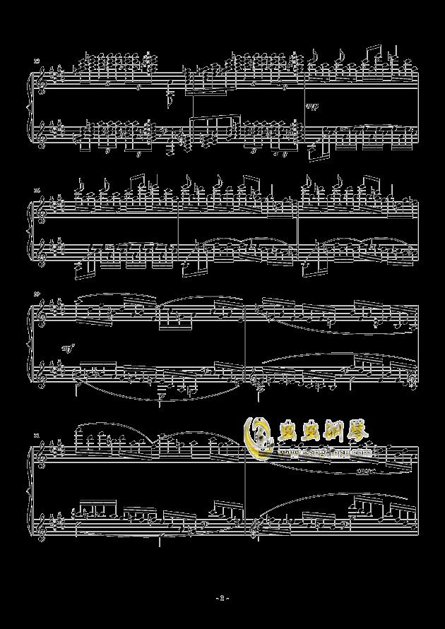 小温狂想曲 2.1钢琴谱 第3页
