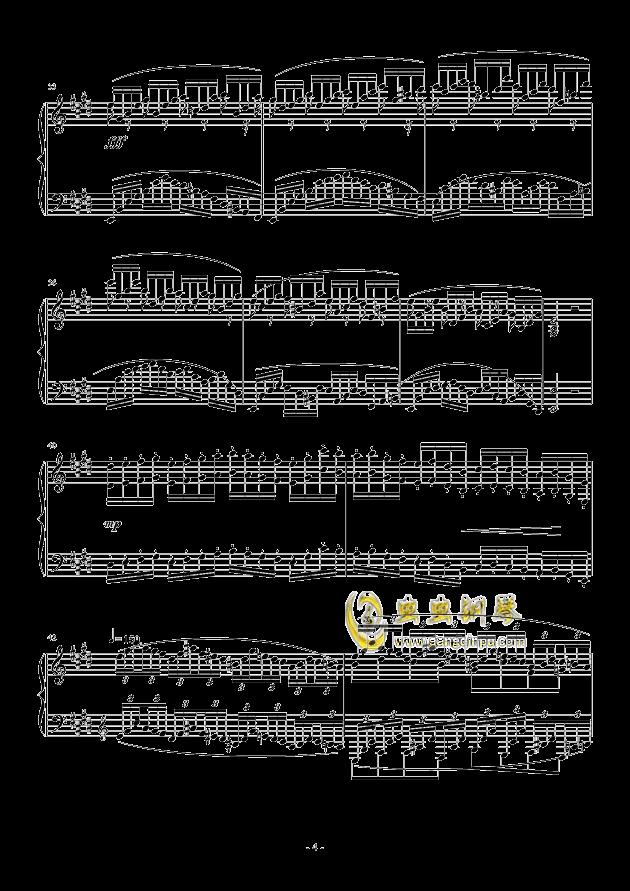 小温狂想曲 2.1钢琴谱 第4页