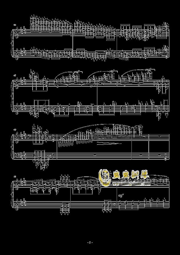 小温狂想曲 2.1钢琴谱 第5页