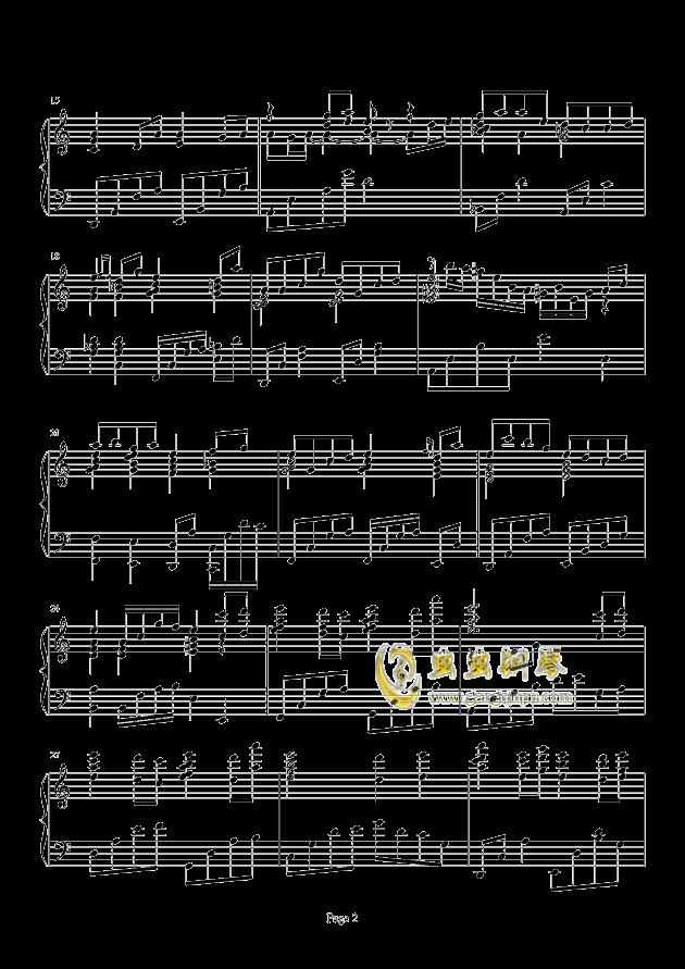 Loadstar钢琴谱 第2页