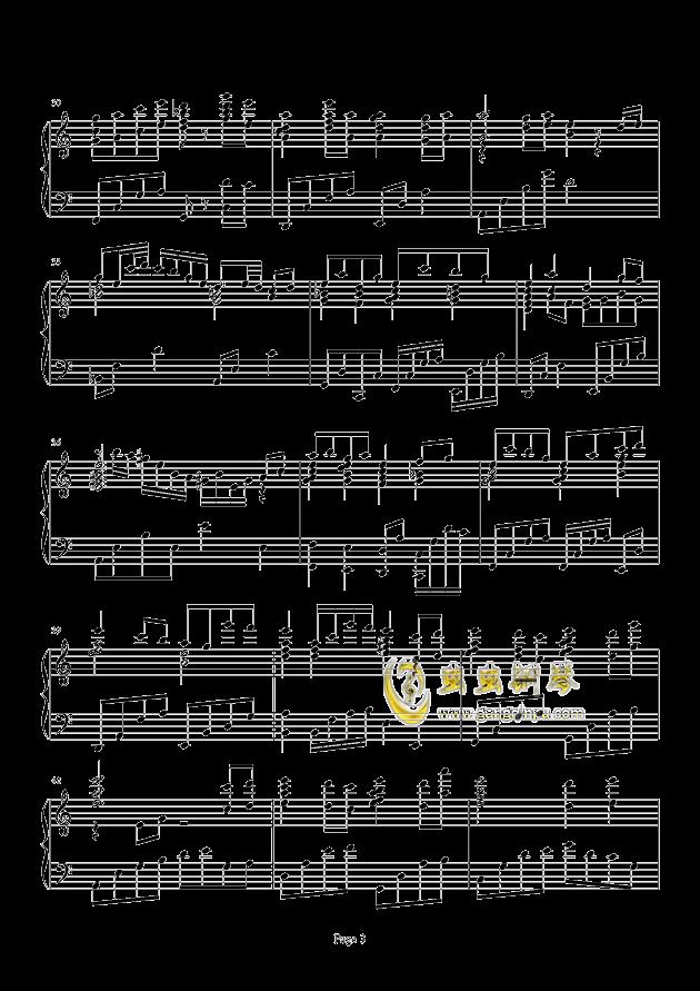 Loadstar钢琴谱 第3页