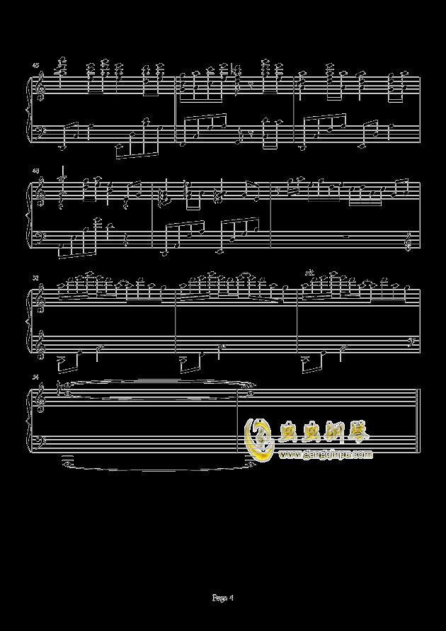 Loadstar钢琴谱 第4页