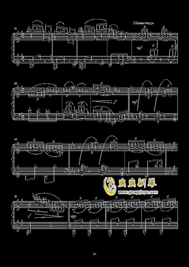 里格顿舞曲钢琴谱 第2页