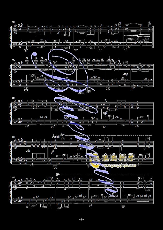 终身美丽,终身美丽钢琴谱,终身美丽钢琴谱网,终身美丽钢琴谱大