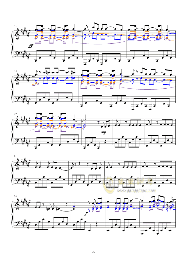 Try Everything钢琴谱 第3页