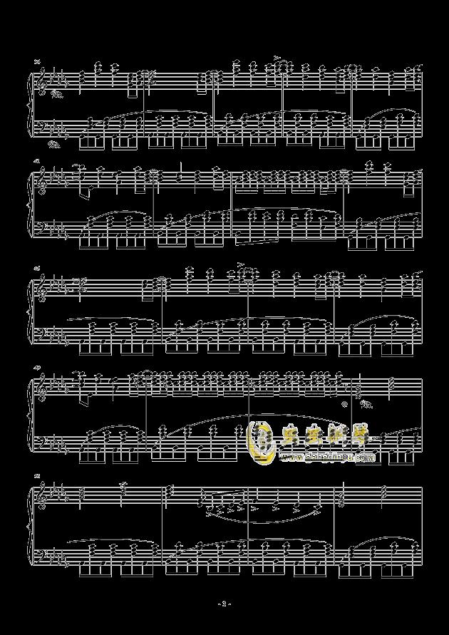 黑暗钢琴谱 第3页