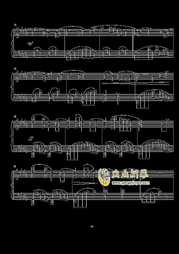 大鱼海棠 印象曲改编, 大鱼海棠 印象曲改编钢琴谱, 大鱼海棠 印象