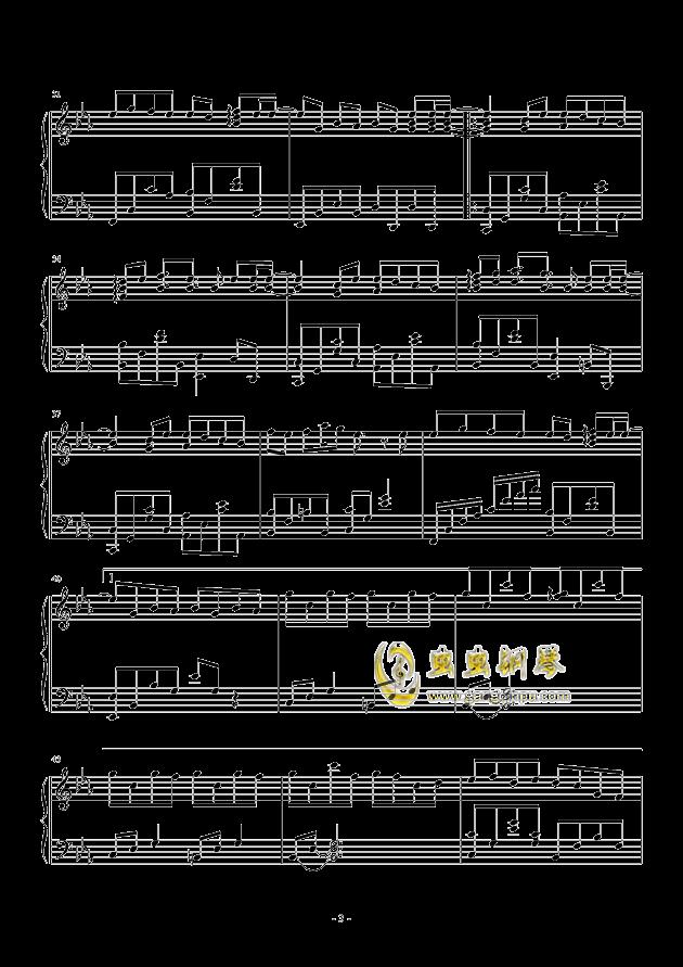 虫虫钢琴 钢琴谱 >> 华语男歌手 >> 周杰伦 >>七里香-怀旧版图片