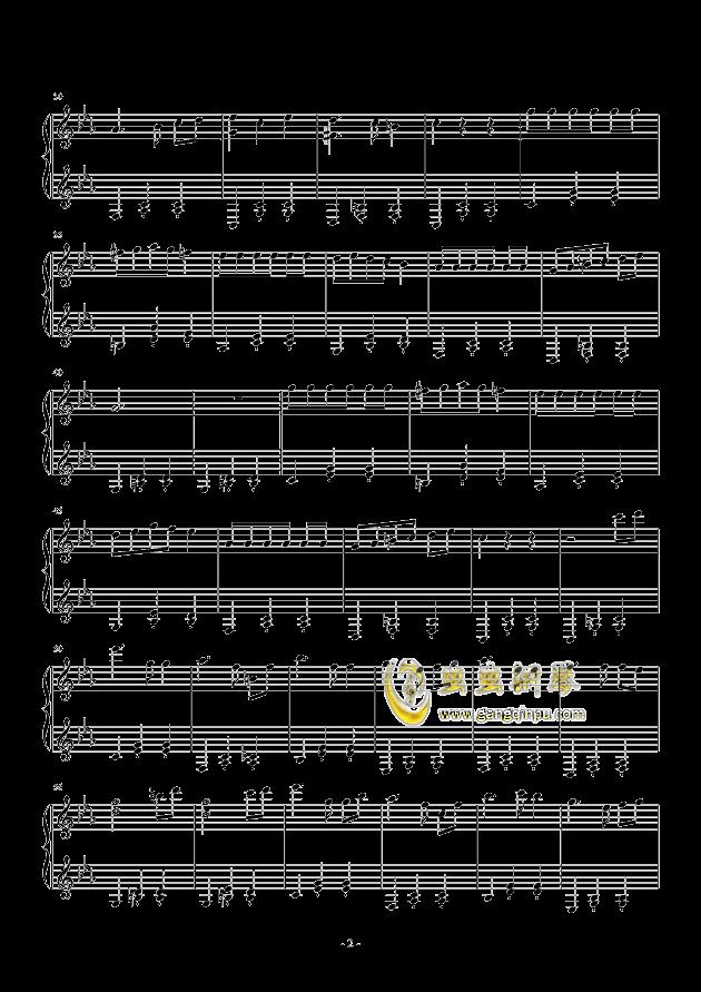 木偶圆舞曲钢琴谱 第2页