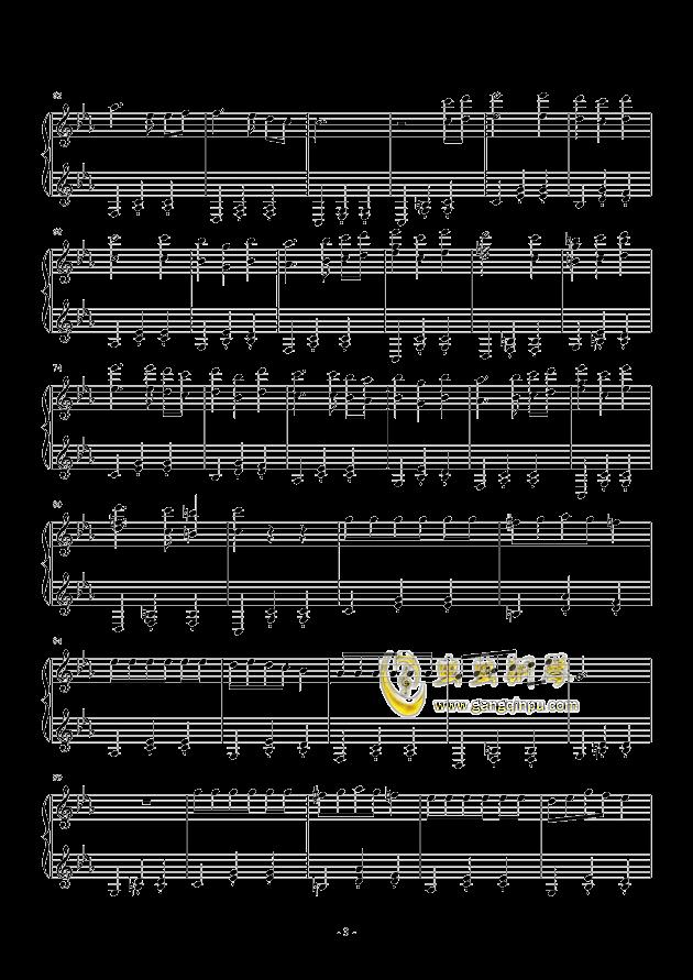 木偶圆舞曲钢琴谱 第3页