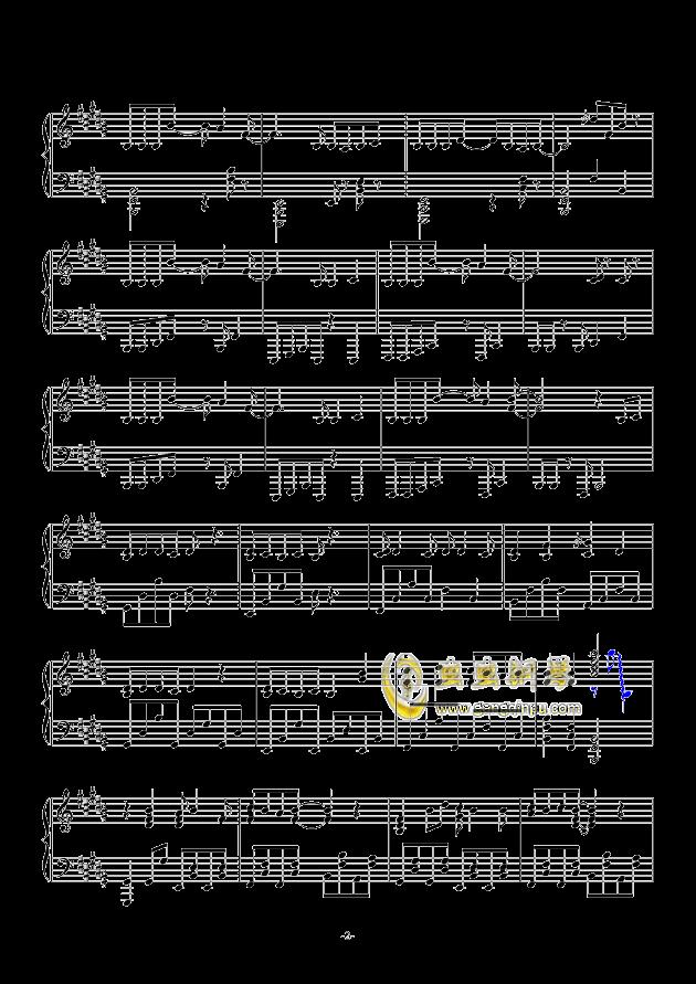 东京夏日相会钢琴谱 第2页