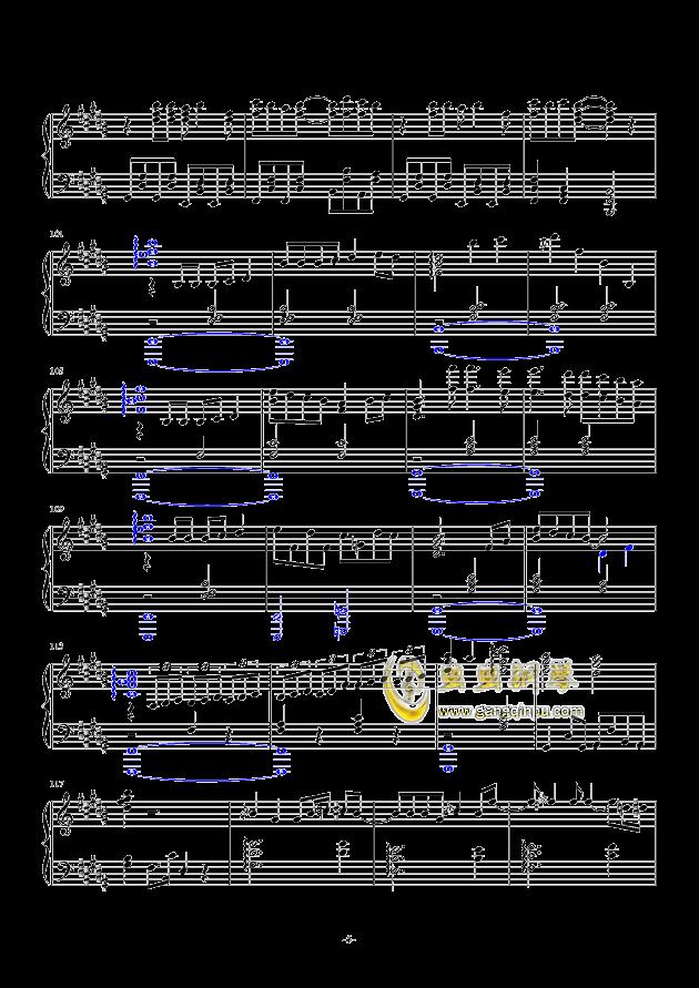 东京夏日相会钢琴谱 第5页